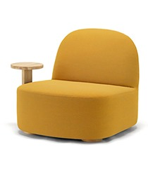 Polar Lounge Chair L with sidetable,가리모쿠60